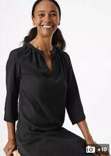 Marks & Spencer Black Dress UK6 US4 Smart Capsule Bnwt