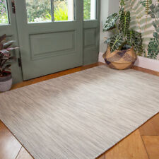 Modern Stone Gray Zero Pile Rug Durable Washable Plastic Outdoor Rug For Garden