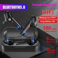 Bluetooth Earbuds Wireless Earphone Headset Waterproof Headphone For iOS Android