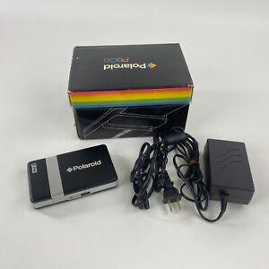 Vintage Polaroid PoGo Instant Mobile Printer Zink Zero Ink w Adapter Paper Box