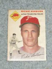 1954 Topps Baseball #45 Richie Ashburn EX No Creases