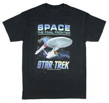 Star Trek Men's Space The Final Frontier T-Shirt