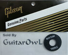 Gibson guitar Black and White Toggle Switch Washer Les Paul  Authentic part  photo