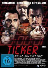 THE TICKER (C) (Steven Seagal, Tom Sizemore, Dennis Hopper,Gary Oldman) DVD NEU