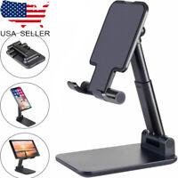 US Adjustable Universal Tablet Stand Desktop Holder Mount for Phone iPad iPhone