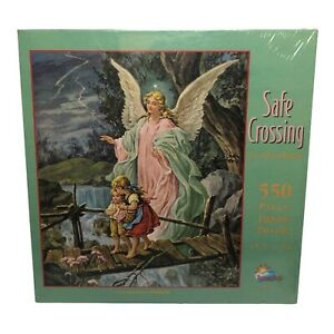 SunsOut Safe Crossing by Quadriga Jigsaw Puzzle 550 Piece Angel Children Sealed
