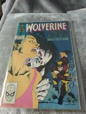 Marvel Wolverine- Issue 15. Comic near mint condition dust cover faded with age