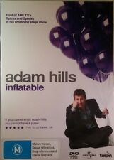 Adam Hills : INFLATABLE (DVD) Australian ABC COMEDIAN FROM SPICKS AND SPECKS !