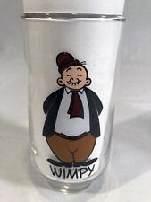 Vintage 1975 Wimpy Glass - Coca-Cola Kollect-A-Set