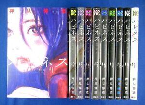 Happiness 1-10 Comic Complete set - Shuzo Oshimi /Japanese Manga Book Japan