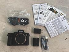 Sony a7 III 24.2MP Mirrorless Digital Camera - Black (ILCE7M3/B)