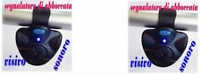 KIT 2 AVVISATORI ACUSTICI ELETTRONICI CARPFISHING SEGNALATORI PESCA CARPA SS