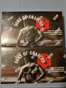 Cryptozoic Sons of Anarchy sealed 2 box card Lot season 6 & 7 (1 auto 1 costume)