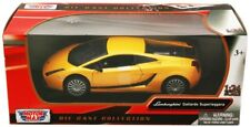 1:24 scale Lamborghini Gallardo Superleggera (Yellow) Motor Max Diecast Model