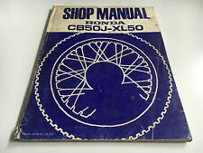 Officina Manuale/SHOP MANUAL CB 50 J, XL 50 (1977)