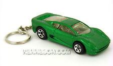 Custom Keychain Jaguar XJ220 Metallic Green