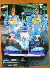 Poster Michael Schuhmacher Benetton Renault