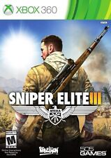 Sniper Elite III 3 USED SEALED (Microsoft Xbox 360, 2014)