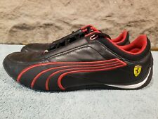 Puma Ferrari Red Black Drift Cat 4 SF Shoes MENS SZ 10 NICE RARE!