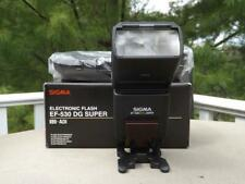 MIB SIGMA EF-530 DG Super Electronic Flash For Sony