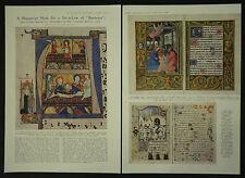 Chester Beatty Sale Mediaeval Manuscripts Books Illuminated 1932 2 Page Article