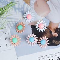 Women Ear Dangle daisy Acrylic Resin Drop Stud Earrings Fashion Jewelry Gift