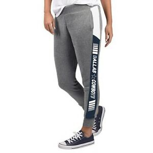 NFL Dallas Cowboys Officially Licensed Women's Fleece Tailgate Pants G-III