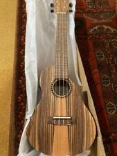 More details for kala teak tri-top e- acoustic concert ukulele new slight b  free uk shipping!
