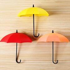 3er Set Klebehaken Wandhaken Haken Handtuchhaken Garderobenhaken Regenschirm Neu