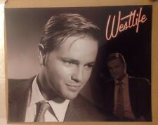 Nicky Byrne 10x8 Black And White Glossy Photo Westlife