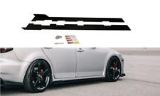Lado de carreras faldas Add-on Difusores Mazda 6 MK1 MPS (2006 - 2007)