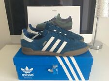 MENS GENUINE BLUE ADIDAS JEANS TRAINERS UK SIZE 10