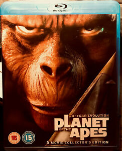 PLANET OF THE APES 5 Movie Collector's Edition 5-Disc Blu Ray Box (2008)*