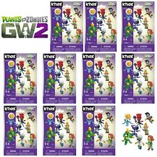 Knex Plants Vs Zombies Series 5 - TEN Blind Bag Mystery Buildable Figure - NEW