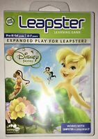 LeapFrog Leapster DISNEY FAIRIES Pre K-1st 4-7 Yrs.~Expanded Play for Leapster 2