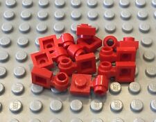 LEGO 10 Red Plate MODIFIED 1x1 - Thick Ring 10188 10183 5591 6060 6346 1682