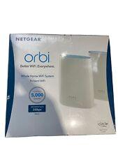 Netgear Orbi AC3000 (RBK50-100NAS) Tri-Band Wireless Router & Satellite...NEW!!