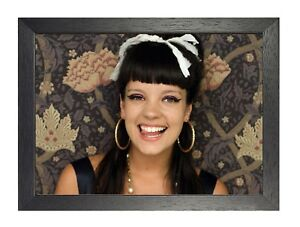 Lily Allen 4  English Singer Poster Electropop Music Star Photo Sexy Beauty Lady
