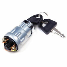 Universal Ignition Barrel Key Switch Waterproof Cover Keys Car Bike Boat Kit 12v