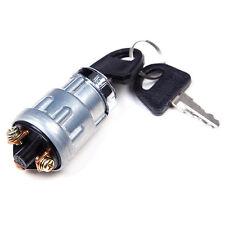 Universal Ignition Barrel Key Switch Waterproof Cover Keys Car Bike Boat Kit 12v