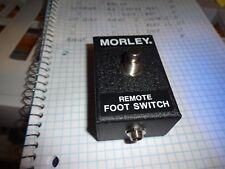 Vintage Morley RFS-M Original Remote FootSwitch