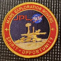 "MARS EXPLORATION ROVER PATCH - JPL NASA - 3.5"""