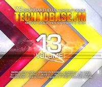 CD Technobase.FM Volume 13 von Various Artists 3CDs