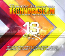 CD Technobase.FM Volume 13 von Various Artists 3CDs
