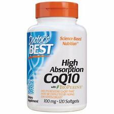 Doctor's Best CoQ10 with BioPerine 100mg 120 Softgels