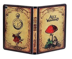 iPad Pro 10.5 / 10.2 / Air 3 Alice In Wonderland Vintage Book Smart Case Cover