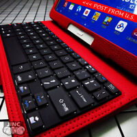 Bluetooth Keyboard Leather Case Cover for Samsung Galaxy Tab4 Tab 4 10.1 SM-T537