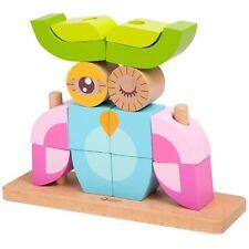 Classic World Wooden Owl Blocks Set | Wooden Blocks to build imagination!