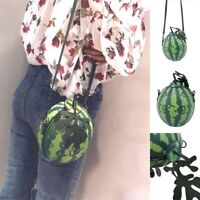 Women Crossbody Shoulder Bag Messenger Watermelon Leather Mini Girls Handbag QL
