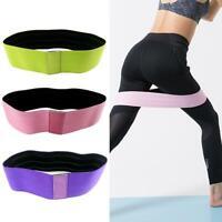Ladies Elastic Legs Exercise Resistance Bands & Expanders HIP  CIRCLE